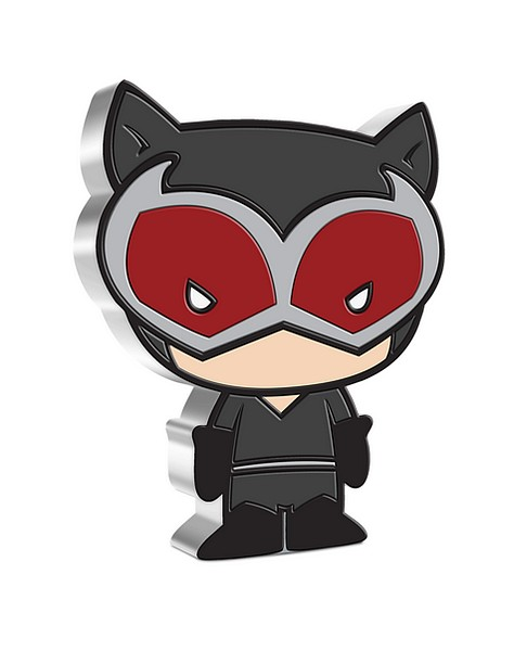 1 oz Ag stříbrná mince Collection DC Comics Series Chibi – CATWOMAN