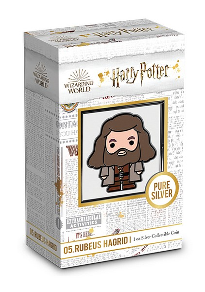 1 oz Ag stříbrná mince Collection Series Chibi HARRY POTTER – RUBEUS HAGRID