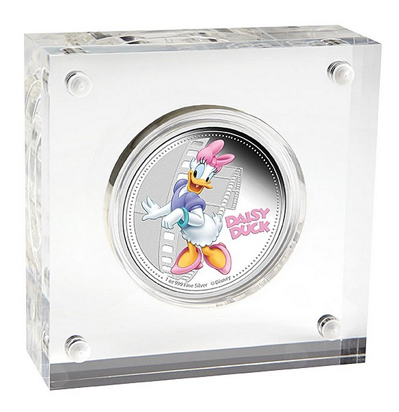 1 oz Ag stříbrná mince NIUE Disney Mickey Mouse and Friends DAISY DUCK
