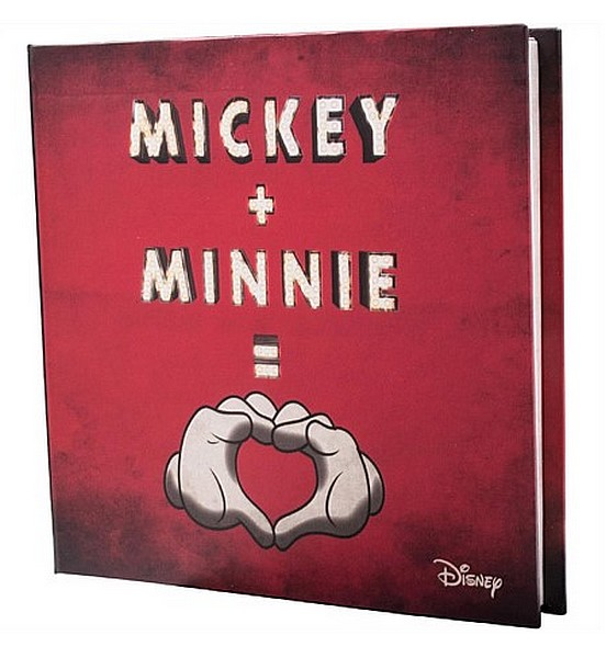 1 oz Ag stříbrná mince Disney Love Mickey Mouse and Minnie Mouse