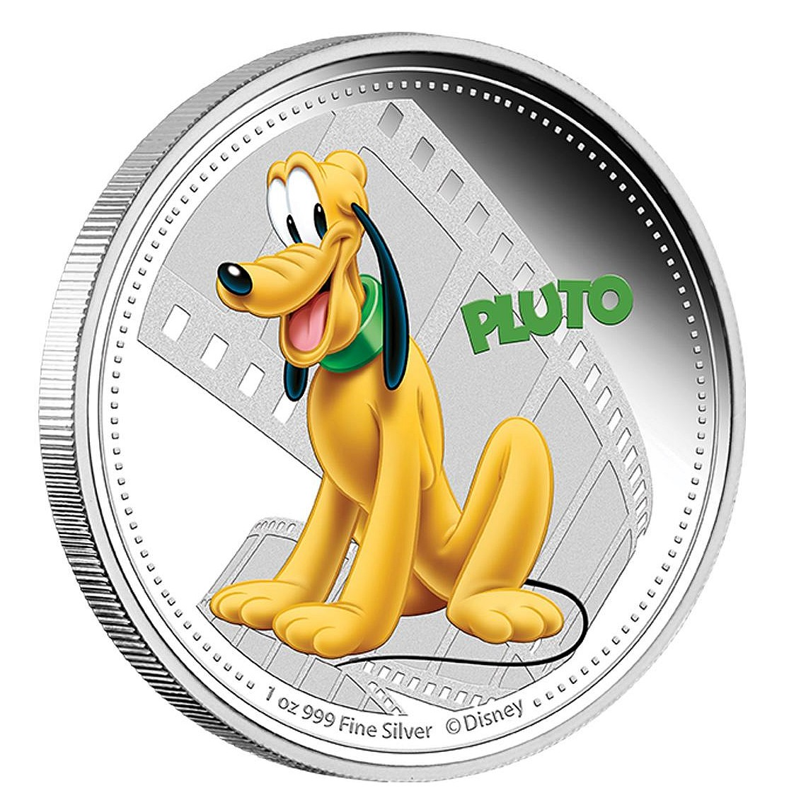 1 oz Ag stříbrná mince NIUE Disney Mickey Mouse and Friends PLUTO