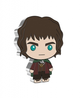 1 oz Ag stříbrná mince Chibi Coin Collection The Lord of The Rings Series – FRODO BAGGINS