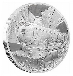 1 oz Ag stříbrná mince Harry Potter Hogwarts Express – HARRY POTTER BRADAVICKÝ EXPRESS