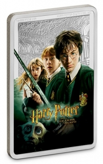 1 oz Ag stříbrná mince HARRY POTTER The Chamber of Secrets – HARRY POTTER A TAJEMNÁ KOMNATA