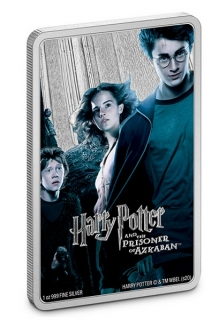 1 oz Ag stříbrná mince HARRY POTTER and Prisoner of Azkaban – HARRY POTTER A VĚZEŇ Z AZKABANU
