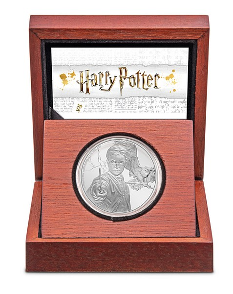 1 oz Ag stříbrná mince Harry Potter Classic Harry Potter – HARRY POTTER