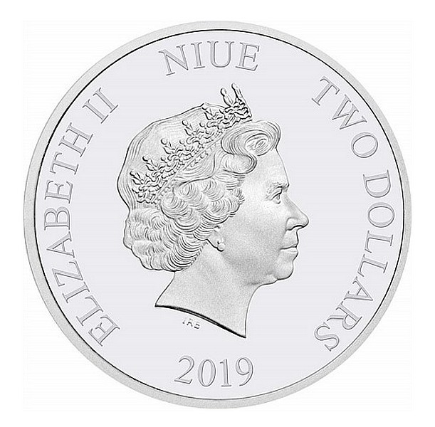 1 oz Ag stříbrná mince Year of the Pig NIUE ROK VEPŘE 2019