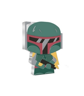 1 oz Ag stříbrná mince Chibi Coin Collection Star Wars – BOBA FETT