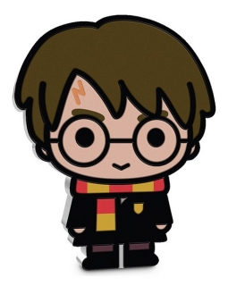 1 oz Ag stříbrná mince Collection Series Chibi – HARRY POTTER