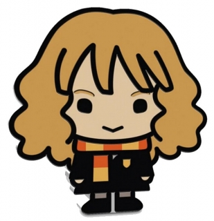 1 oz Ag stříbrná mince Collection Series Chibi HARRY POTTER – HERMIONE GRANGER