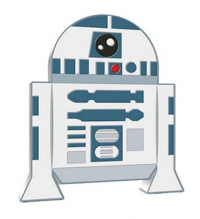 1 oz Ag stříbrná mince Chibi Coin Collection Star Wars – ROBOT R2-D2