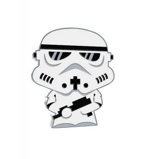 1 oz Ag stříbrná mince Chibi Coin Collection Star Wars – Stormtrooper